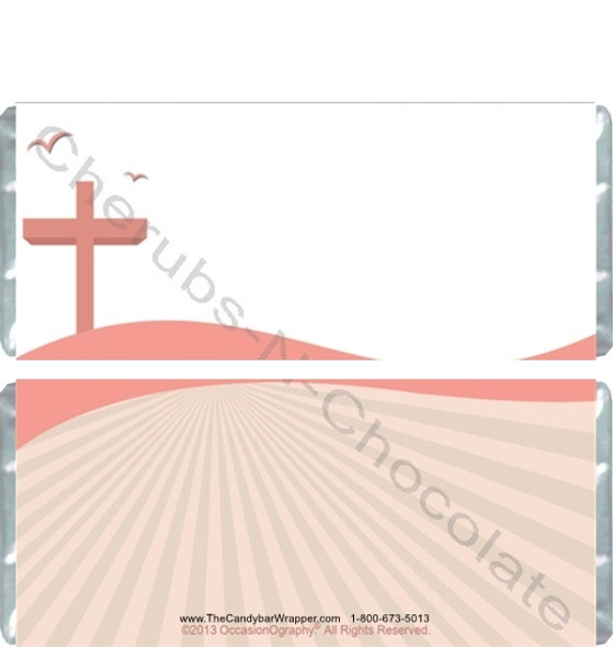 Baptism Candy Bar Blank