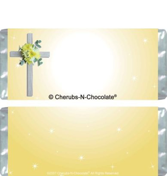 Christening Candy Bar Wrappers Blank