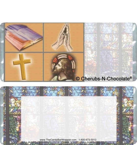 Communion Chocolate Bars Blank