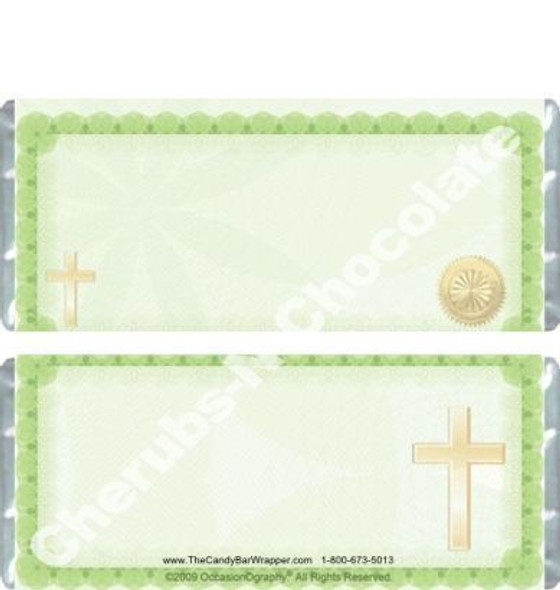 Confirmation Chocolate Wrappers Blank
