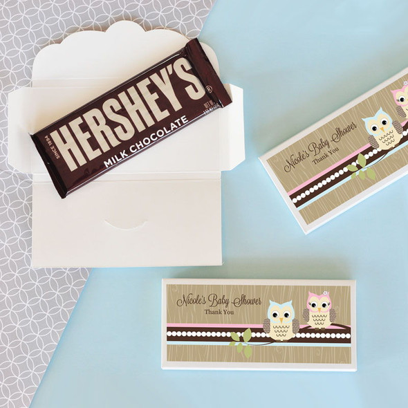 Woodland Owl Candy Bar Covers