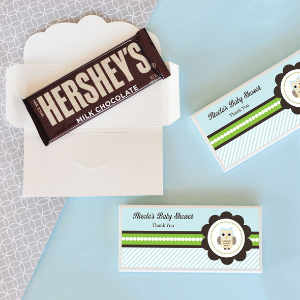 Blue Owl Candy Bar Covers