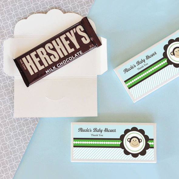 Blue Monkey Candy Bar Covers