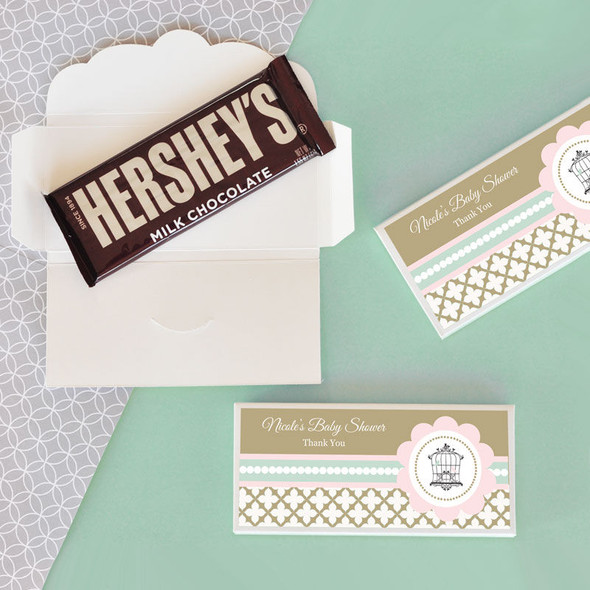 Birdcage Party Candy Bar Covers