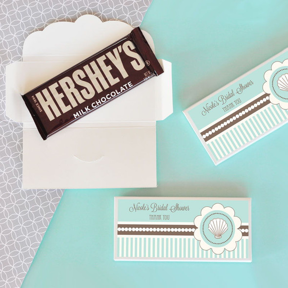 Beach Party Candy Bar Covers