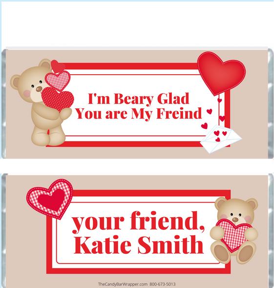 Valentine's Day Chocolate Bars