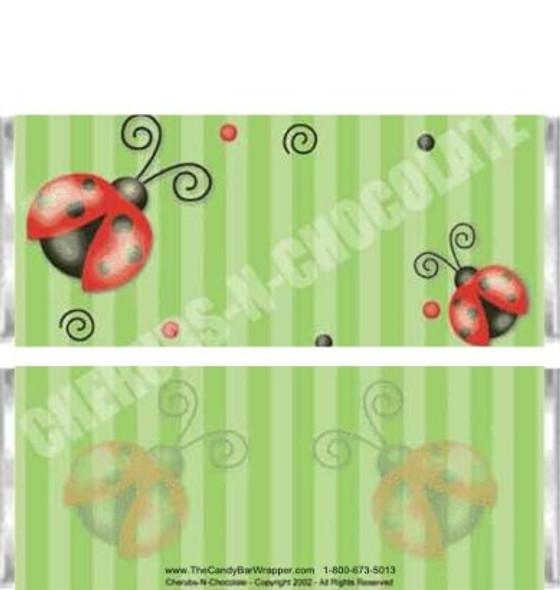 Ladybug Candy Wrappers