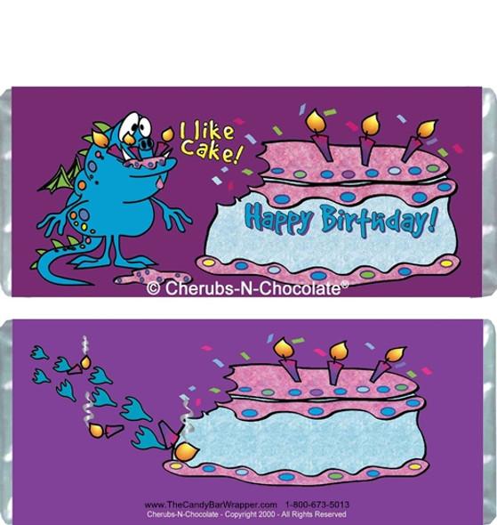 I Like Cake Candy Wrappers