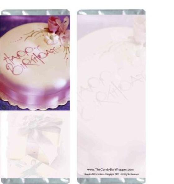 Birthday Elegance Candy Wrapper