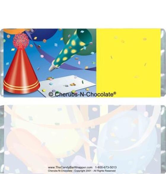 Confetti Candy Wrapper