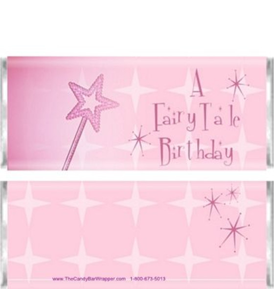 Pink Princess Candy Bar Wrappers