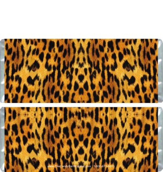 Leopard Candy Bar Wrappers