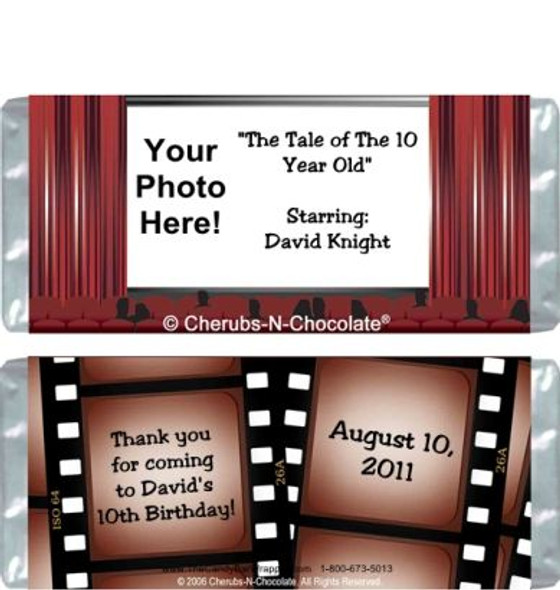 Silver Screen Candy Wrapper Sample