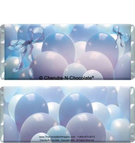 Blue Balloons Candy Wrapper