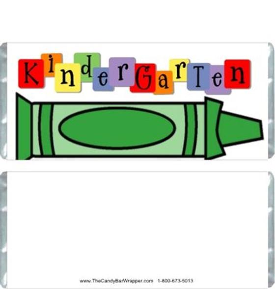 Kindergarten Graduation Candy Wrappers