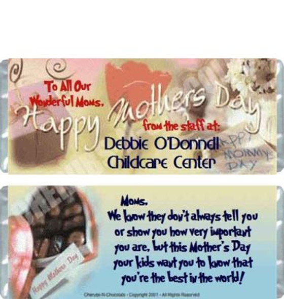 Mother's Day Candy Wrappers Sample