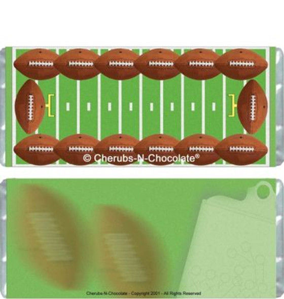 Football Candy Wrappers