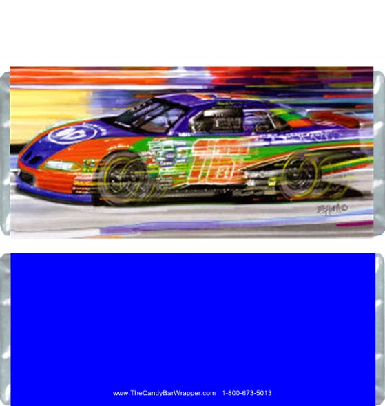 Race Car Candy Wrappers