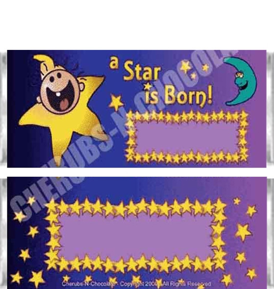 A Star is Born 1 Candy Wrapper