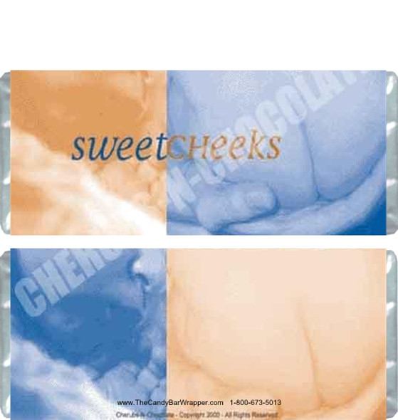 Sweet Cheeks Candy Wrapper