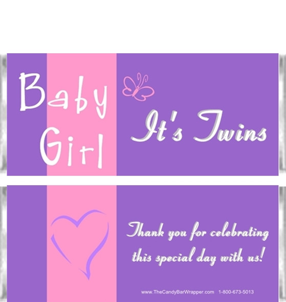 ABC Baby Girl Candy Wrappers Sample