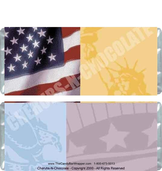 America Candy Wrapper