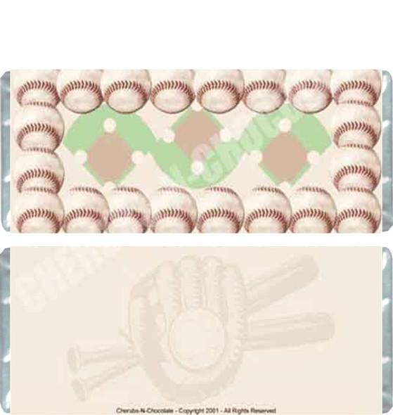 Baseball Candy Wrappers