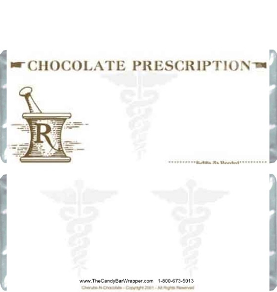 Prescription Candy Wrapper