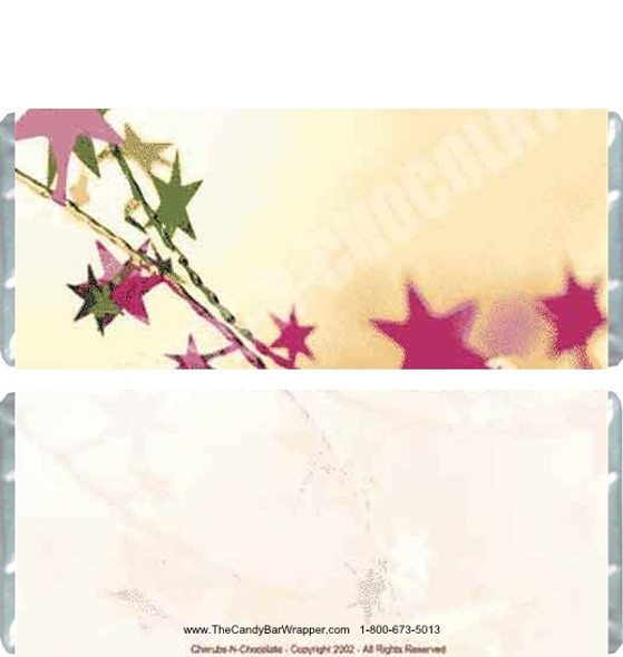 Stars Candy Wrapper