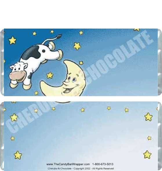 Cow Over Moon Candy Wrapper