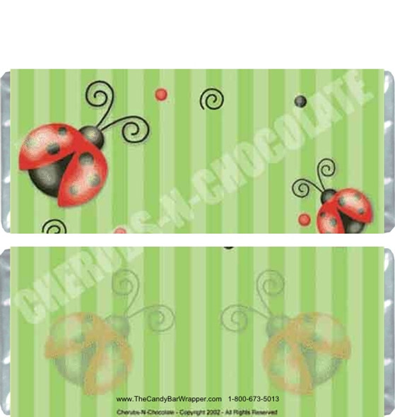 Lady Bugs Candy Wrappers