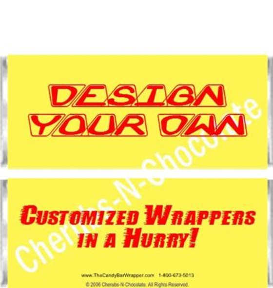Yellow Candy Wrappers Sample