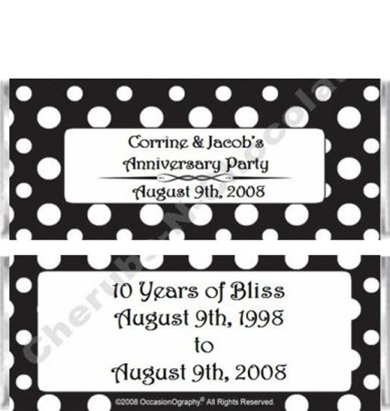 Black and White Candy Wrappers Sample