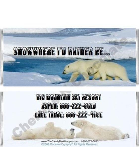 Polar Bears Candy Wrappers Sample