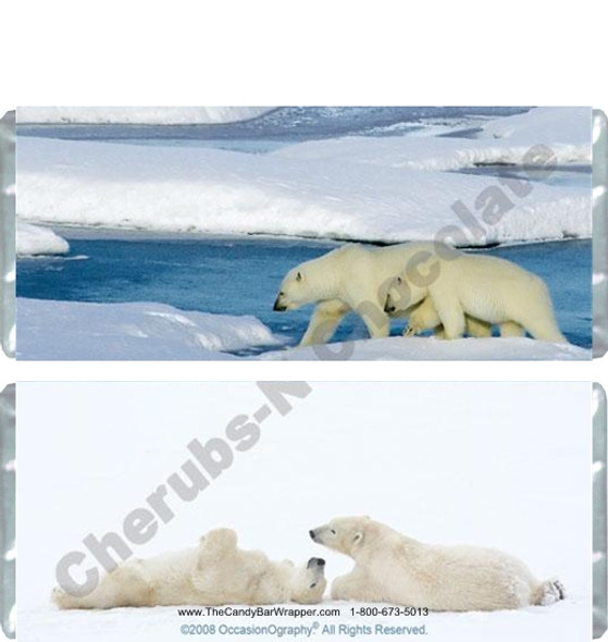 Polar Bears Candy Wrappers