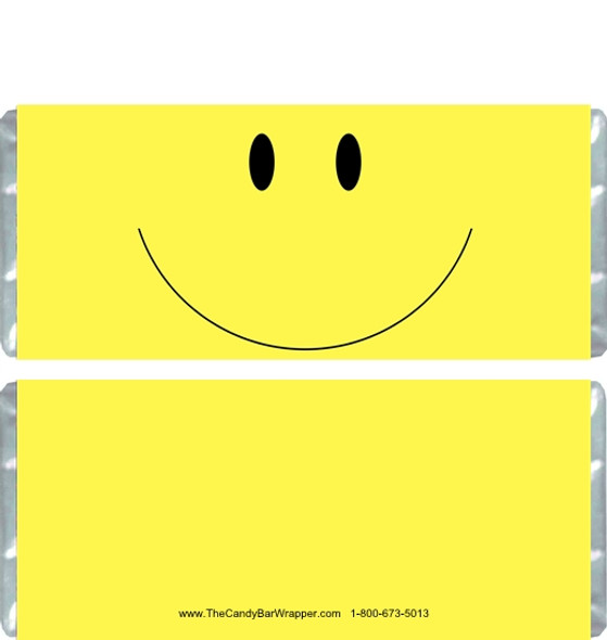 Smile Candy Bar Wrappers