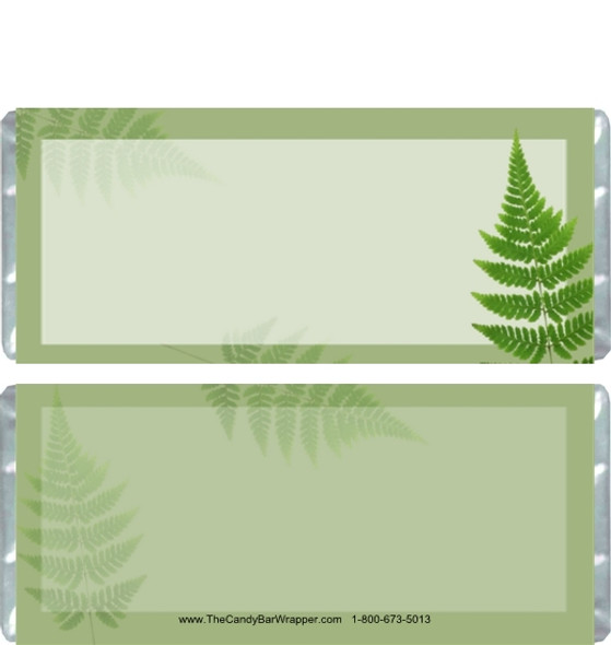 Fern Candy Bar Wrappers