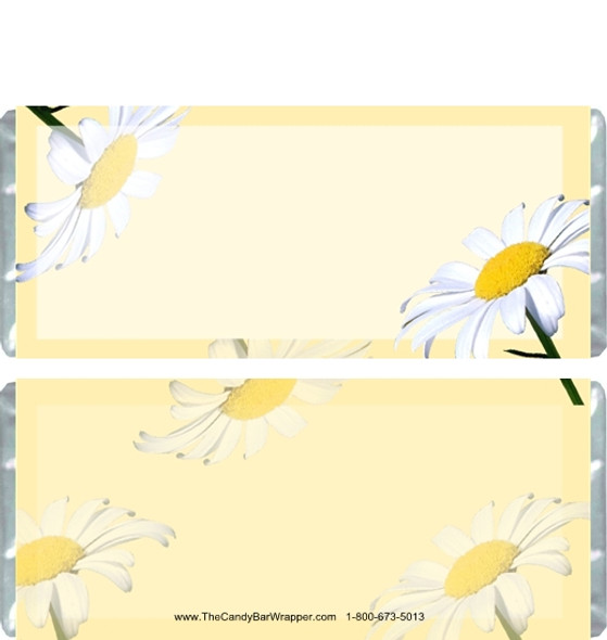 Daisy Candy Bar Wrappers