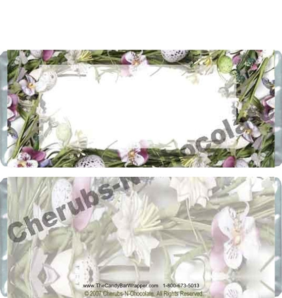 Spring Floral Candy Wrappers