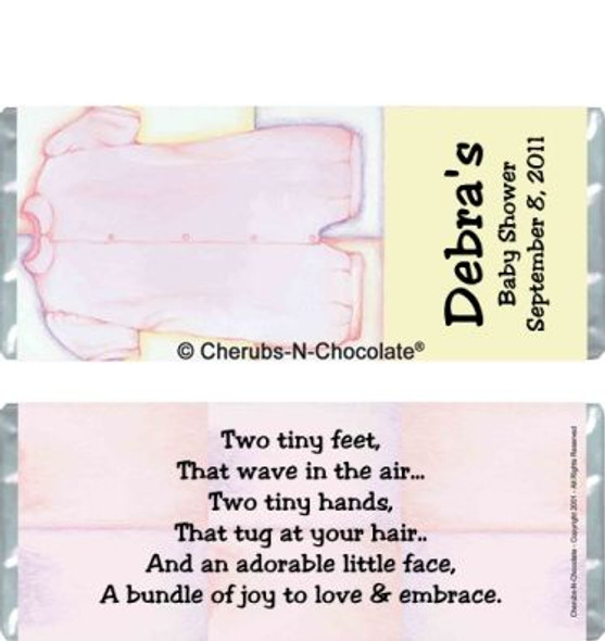Clothes Pink Candy Wrappers Sample