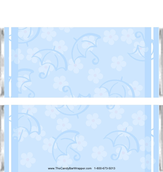 Banner Blue Candy Wrappers