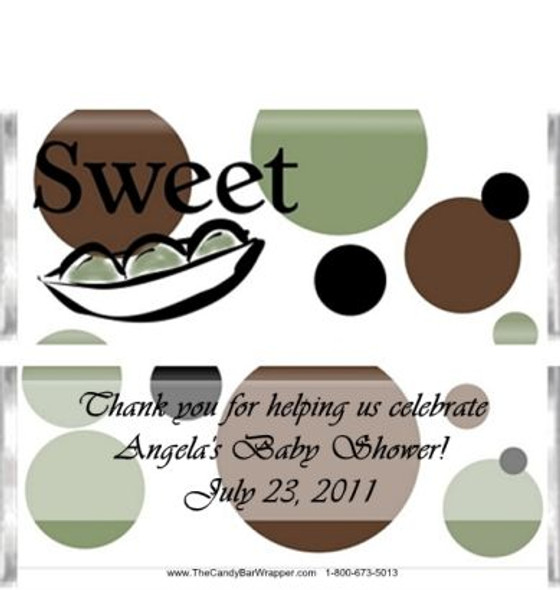 Sweet Peas Candy Wrappers Sample