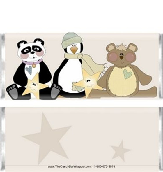 Stuffed Animals Candy Bar Wrappers