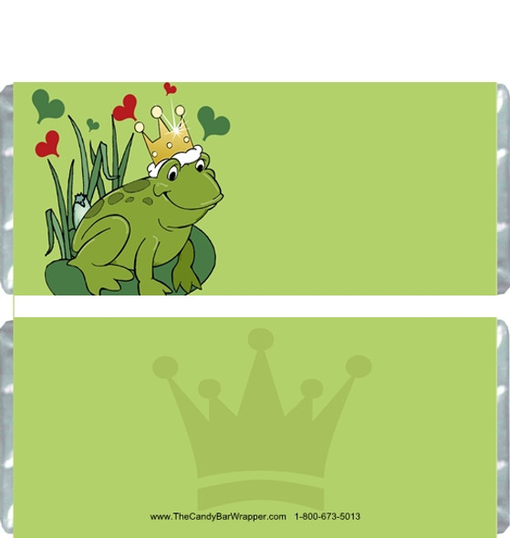 Frog Prince Candy Bar Wrappers