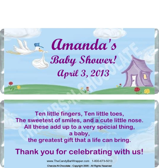 Baby Shower Party Favors Sample