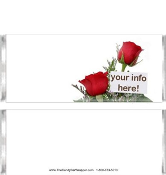 Red Rose Candy Bar Wrappers