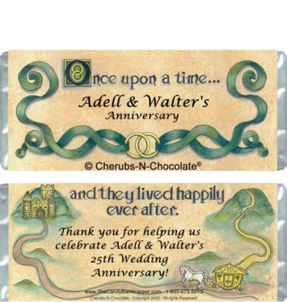 Once Upon a Time Candy Wrapper Sample