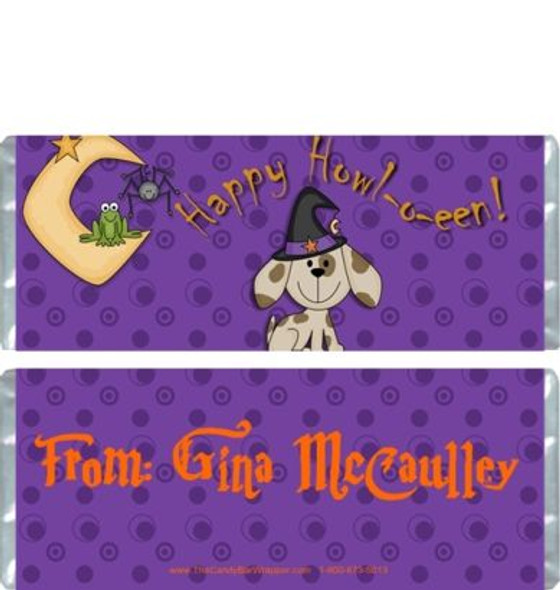 Spooky the Dog Candy Wrappers
