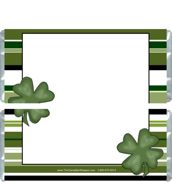 St. Patrick's Day Candy Bar Wrappers