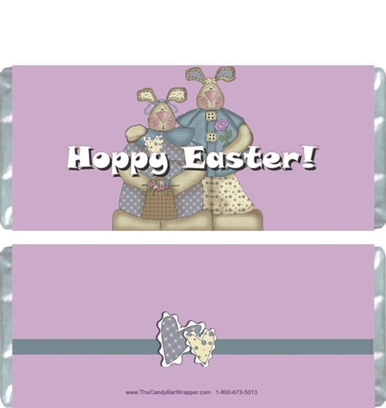 Hoppy Easter Candy Wrappers